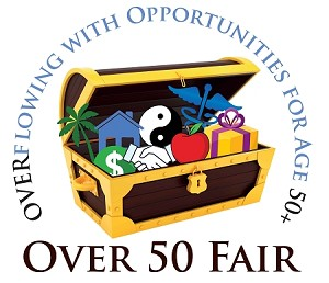 Over 50 Fair Exhibitor Table